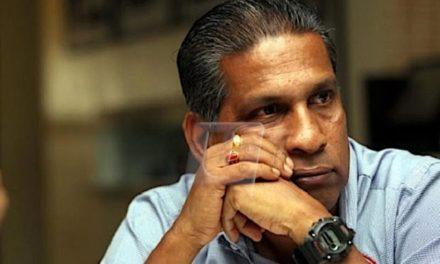 Sathianathan Berang Dimaki Penyokong Sendiri Di Stadium Larkin