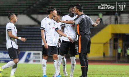Pengadil Perlawanan Sabah Dan Terengganu FC Di Gantung 2 Minggu